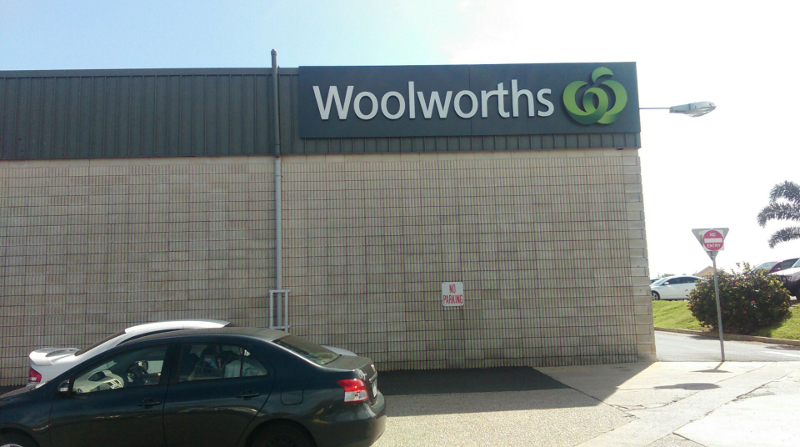 Woolworths Permasign Building Signage